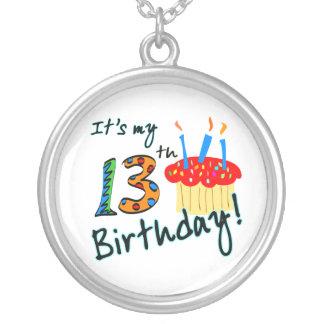 décimotercero Joyería del cumpleaños