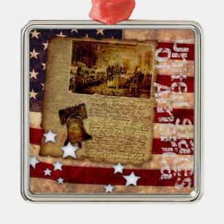 Declaración de Independencia 1776 Ornamento De Reyes Magos
