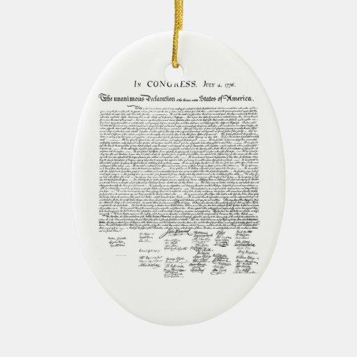 Declaración de Independencia Ornamento De Reyes Magos