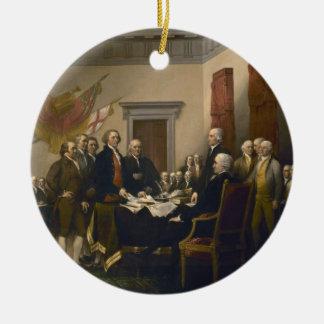 Declaración de Independencia de Juan Trumbull Ornamentos Para Reyes Magos