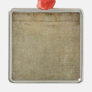 Declaración de Independencia original Ornamento De Reyes Magos