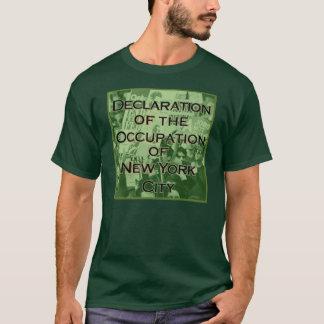 Declaración del empleo de New York City Camiseta