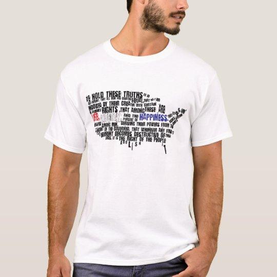 Decleration de la camisa de la independencia -