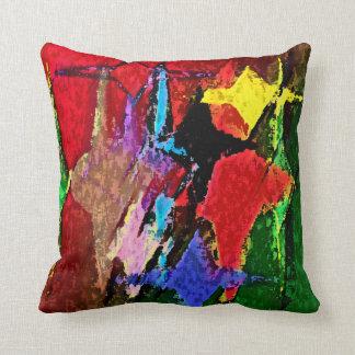 Decoración a todo color de la almohada de tiro del