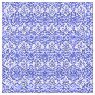 Decoración antigua azul y blanca del Cornflower Telas