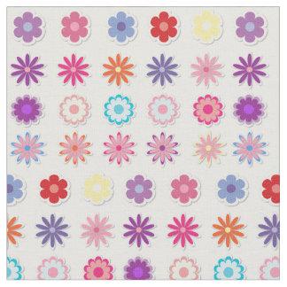 Decoración colorida del baño de la impresión telas
