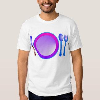 Decoración de la comida camisas