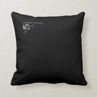 Decoración de la compañía almohada