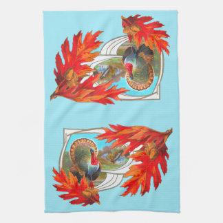 ¡Decoración de la toalla de la acción de gracias,