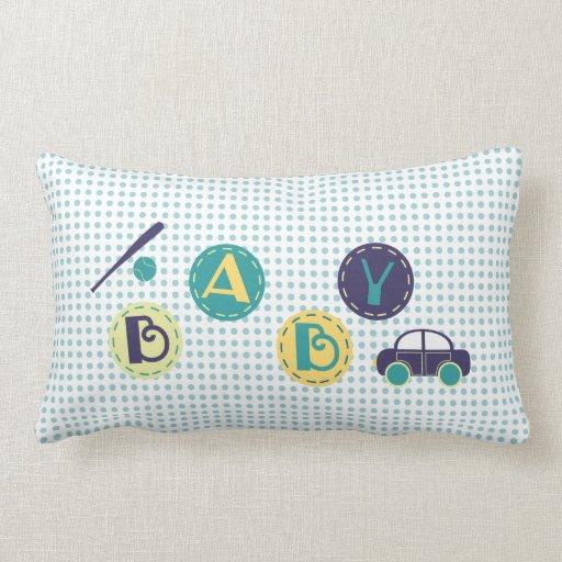decoración del bebé almohada