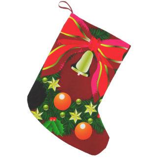 DECORACIÓN del DÍA DE FIESTA de la guirnalda del Calcetín De Navidad Pequeño