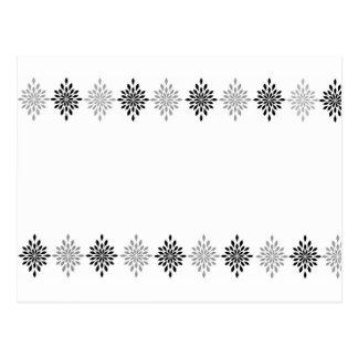 Decoración del diamante postal