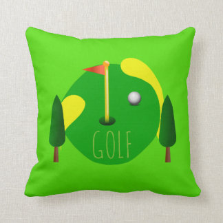 Decoración del golf cojín decorativo