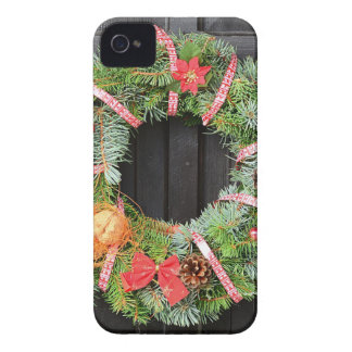 Decoración del navidad carcasa para iPhone 4
