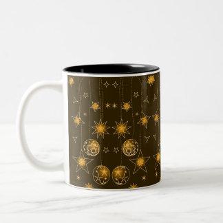 Decoración del navidad de la burbuja del globo de  taza de café