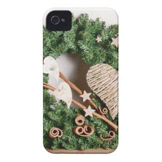 Decoración del navidad funda para iPhone 4