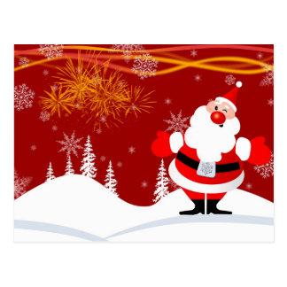 Decoración del navidad postal