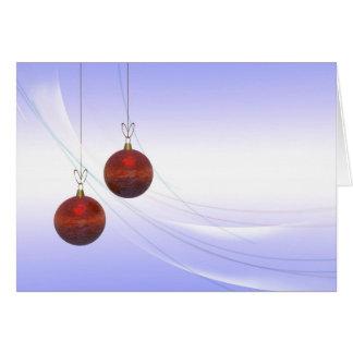 Decoración del navidad tarjetas