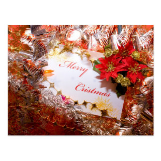 Decoración del navidad tarjeta postal
