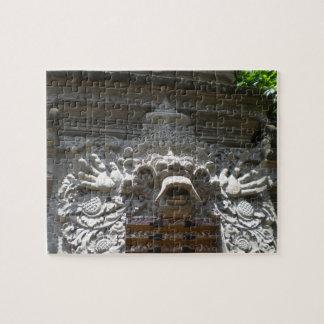 Decoración del templo de Bali Rompecabezas