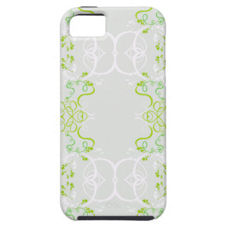 Decoracion floral primavera verde iPhone 5 Case-Mate protectores