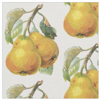 Decoración francesa del país - peras del vintage tela