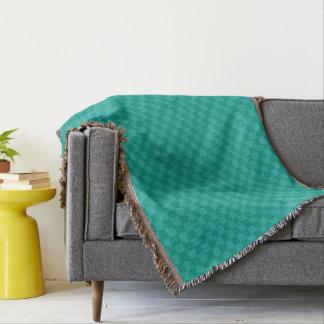 Decoración moderna del hogar del modelo del manta