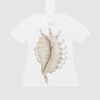 Decoración/ornamento de la camiseta de Shell de la