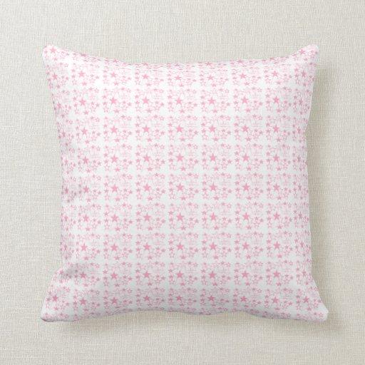 Decoración rosada almohada