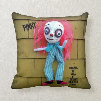 Decoración rosada del hogar del payaso de la almohadas