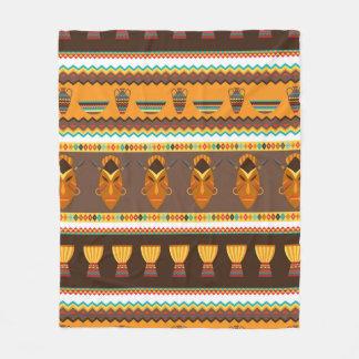 Decoración tribal africana del hogar del modelo manta polar