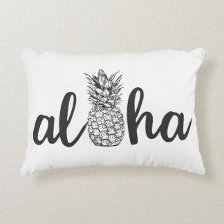 decoración tropical del hogar de la almohada del