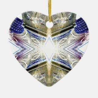 Decoración urbana de CricketDiane del ornamento Adorno De Cerámica En Forma De Corazón