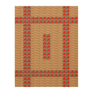 Decoraciones de madera de FineART de la lona por Impresión En Madera