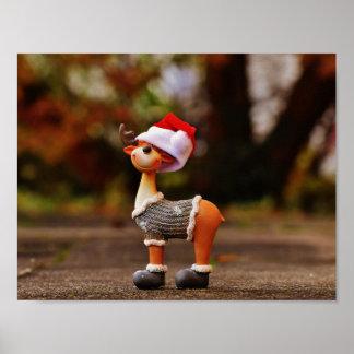 Decoraciones del reno - reno del navidad