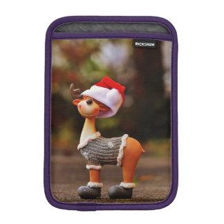 Decoraciones del reno - reno del navidad funda para iPad mini
