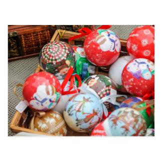 decoraciones para el navidad postal
