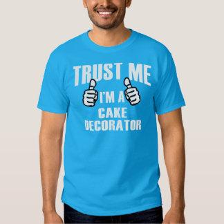 Decorador de la torta - camiseta