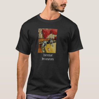 Decoradores de interiores camiseta
