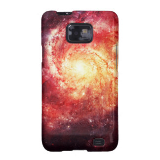 Deep Space Galaxy Messier 101 Remix Galaxy S2 Fundas