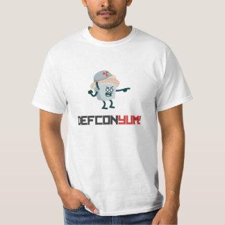 ¡Defcon YUM! Chewmee y camiseta del logotipo