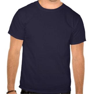 Defensor del béisbol - oscuridad camiseta