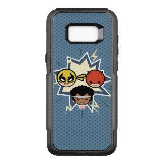 Defensores de Kawaii Funda Commuter De OtterBox Para Samsung Galaxy S8+