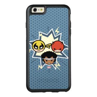 Defensores de Kawaii Funda Otterbox Para iPhone 6/6s Plus