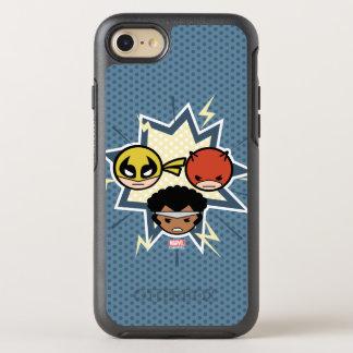 Defensores de Kawaii Funda OtterBox Symmetry Para iPhone 8/7