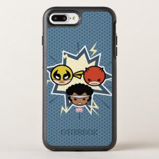 Defensores de Kawaii Funda OtterBox Symmetry Para iPhone 8 Plus/7 Plus