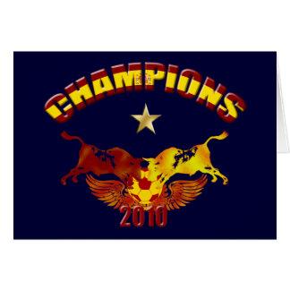 Defiende los toros españoles 2010 de Toro Felicitacion