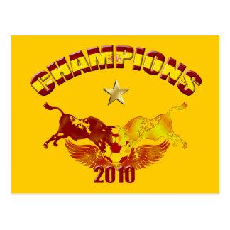 Defiende los toros españoles 2010 de Toro Postal