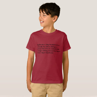 Definición de un Bro grande T Camiseta