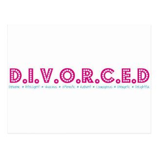 Definición femenina del divorcio postal